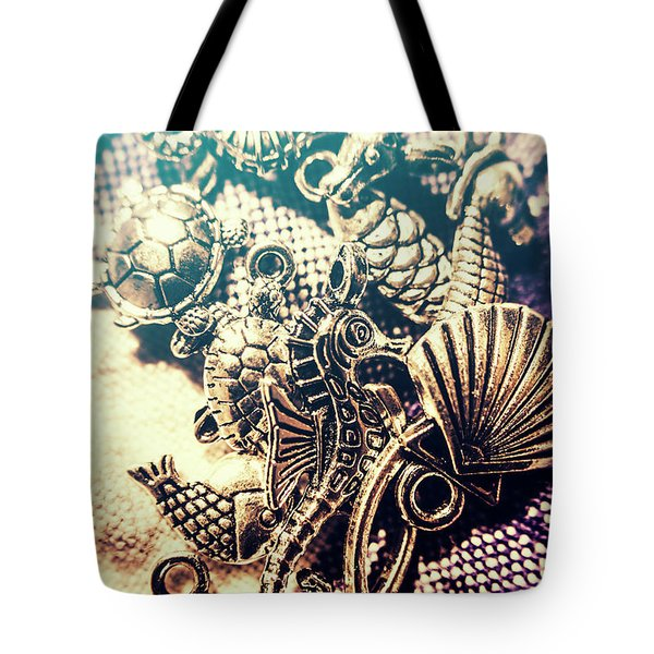 Flares Of Nautical Beauty Tote Bag