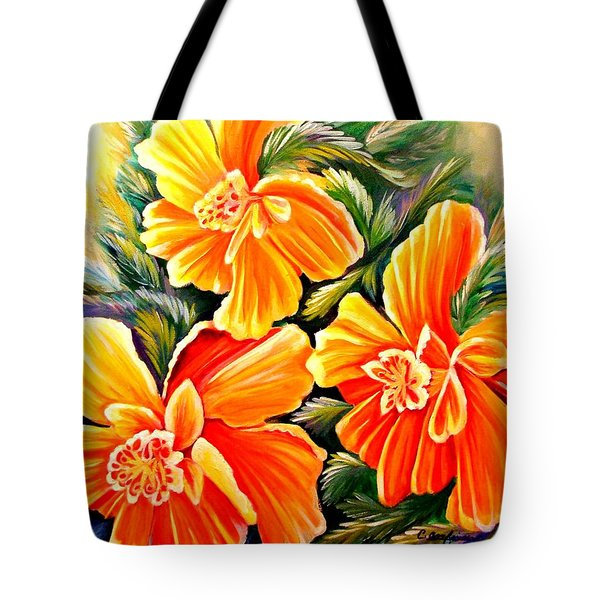 Flash Dance Tote Bag