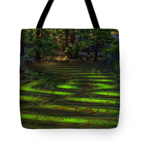 Flash Flood Warning Tote Bag