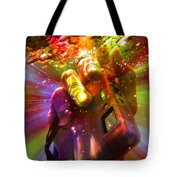 Flash Of Light Tote Bag