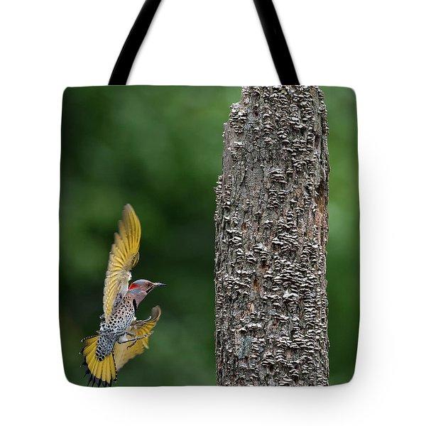 Flash Of Yellow Tote Bag