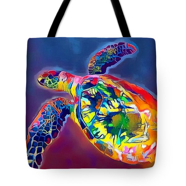 Flash The Turtle Tote Bag