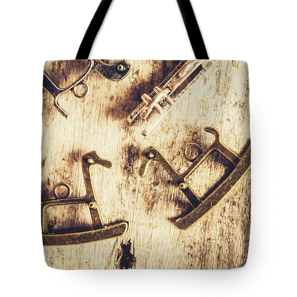 Flashback From The Wooden Toy Box Tote Bag