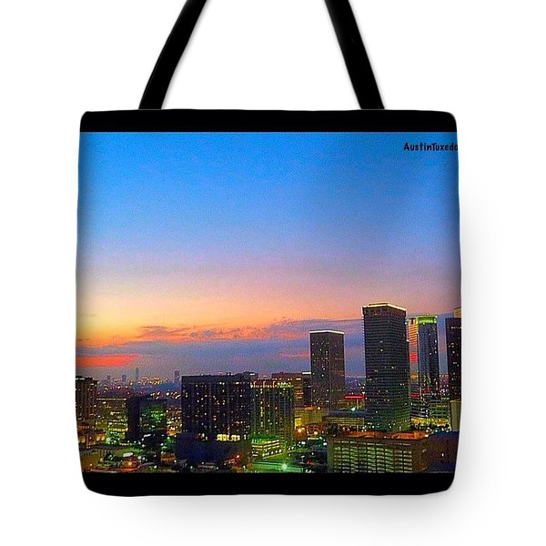 #flashbackfriday - The #sunset Over Tote Bag
