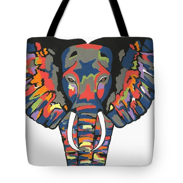 Flashy Elephant Tote Bag