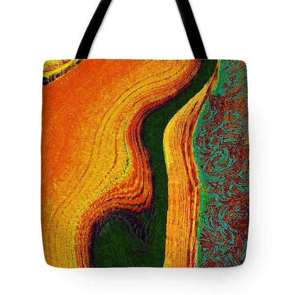 Flat Art Tote Bag