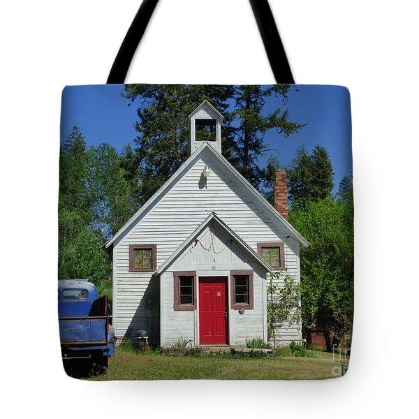 Flat Creek School Tote Bag