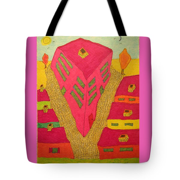 Flat Iron Bldg Tote Bag