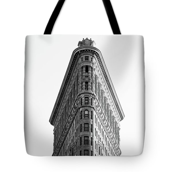 Tote Bag featuring the photograph Flat Iron Building by MGL Meiklejohn Graphics Licensing