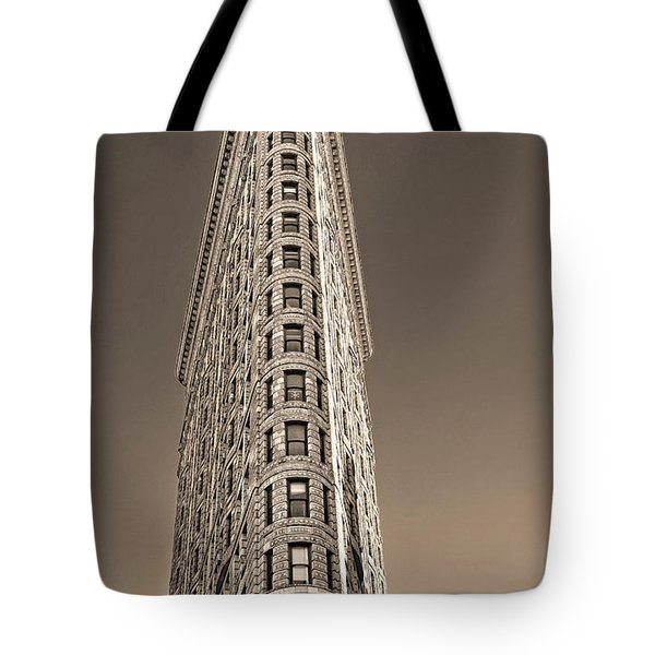 Flat Iron Building New York City Tote Bag