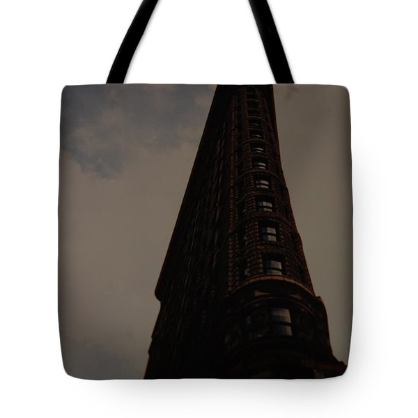 Flat Iron Building Tote Bag by Rob Hans