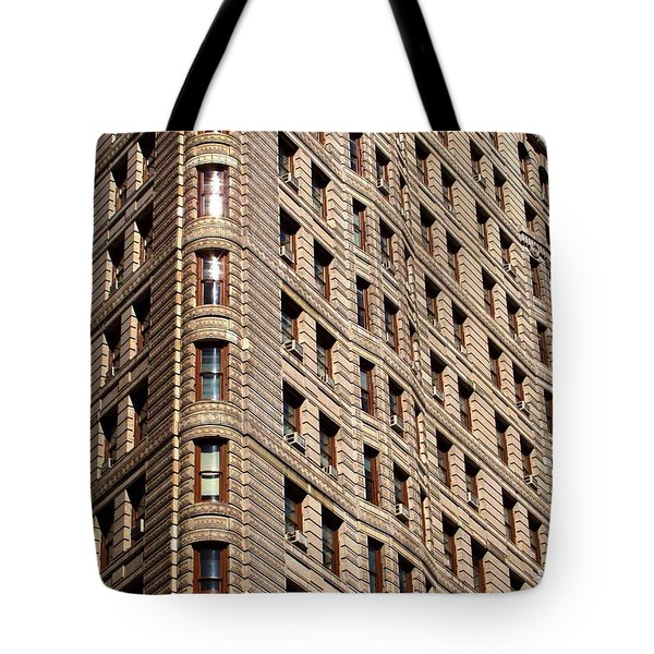 Flat Iron Tote Bag