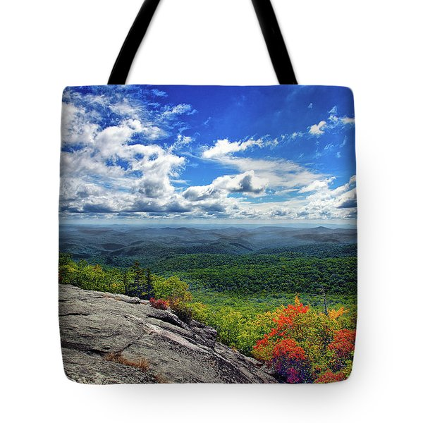 Flat Rock Vista Tote Bag