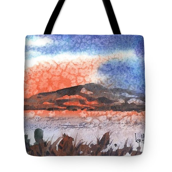 Flathead Lake Montana Tote Bag by Kevin Heaney