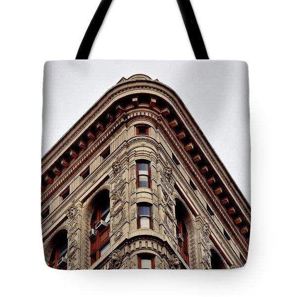 Flatiron Building Detail Tote Bag