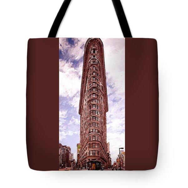 Flatiron Building Tote Bag by James Shepherd
