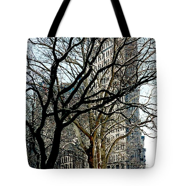 Flatiron Building Tote Bag