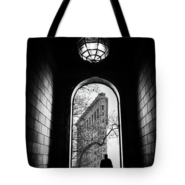 Tote Bag featuring the photograph Flatiron Perspective by Jessica Jenney