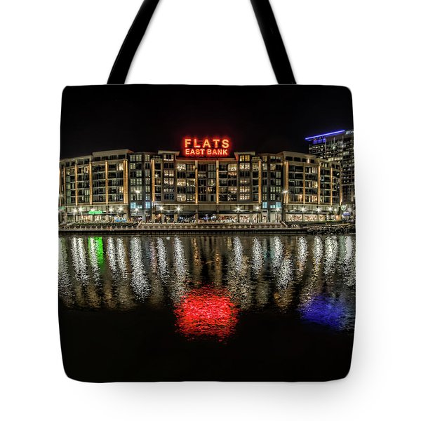 Flats East Bank Tote Bag by Brent Durken
