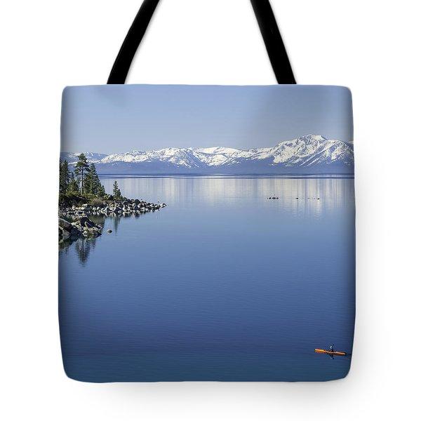 Flatwater Kayak Tote Bag