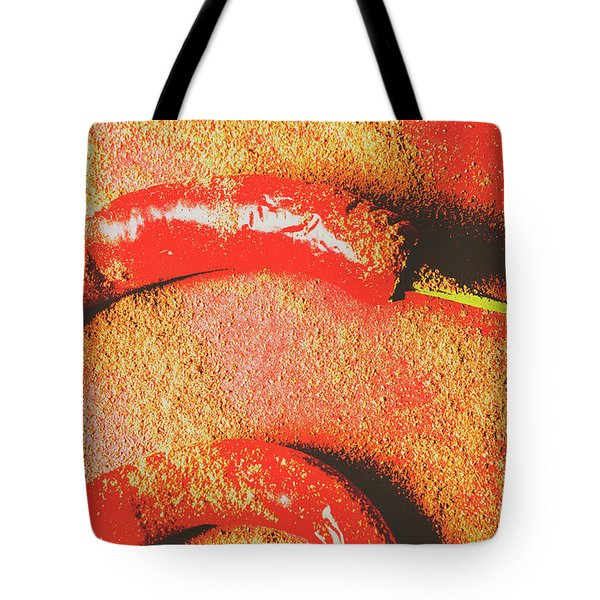 Flavor Of The East Tote Bag