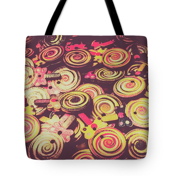 Flavours Of Yesterday Tote Bag