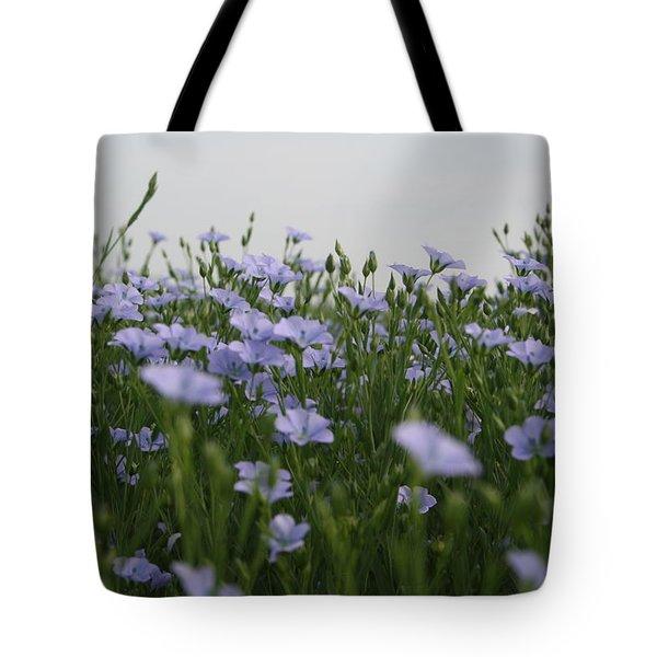 Flax V Tote Bag