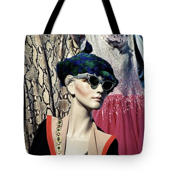 Flea Market Style Tote Bag