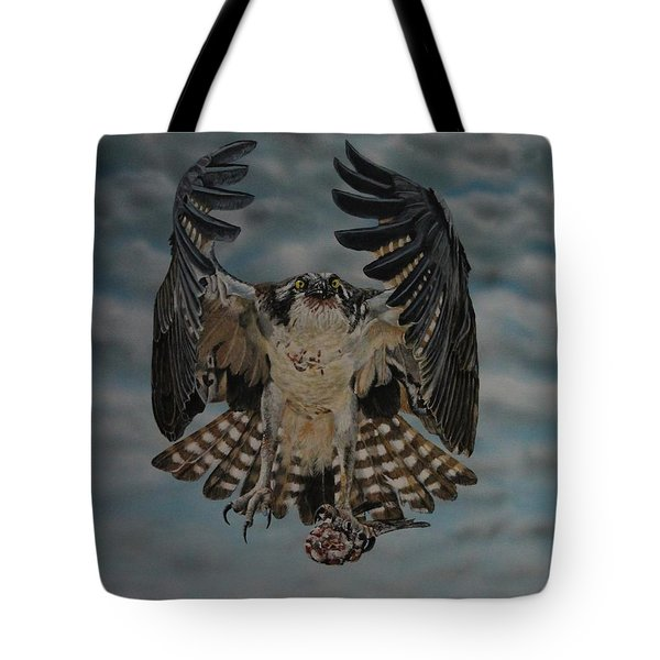 Fleck The Osprey  Tote Bag