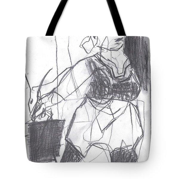 Fleeing Writer Tote Bag