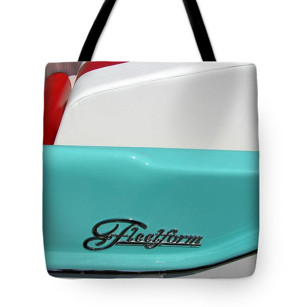 Fleetform Powerboat Lll Tote Bag