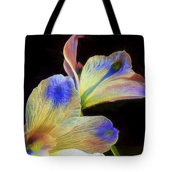 Fleeting Flowers Tote Bag