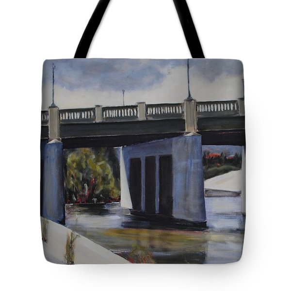 Fletcher Street Bridge Tote Bag