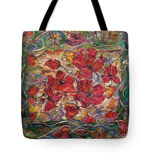 Fleur De Mon Ami Tote Bag