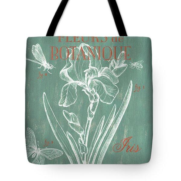 Fleurs De Botanique Tote Bag