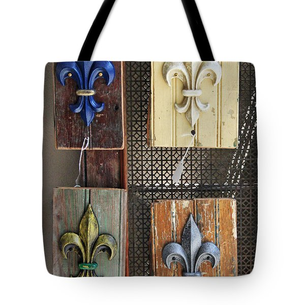 Tote Bag featuring the photograph Fleurs-de-lis by Todd Blanchard