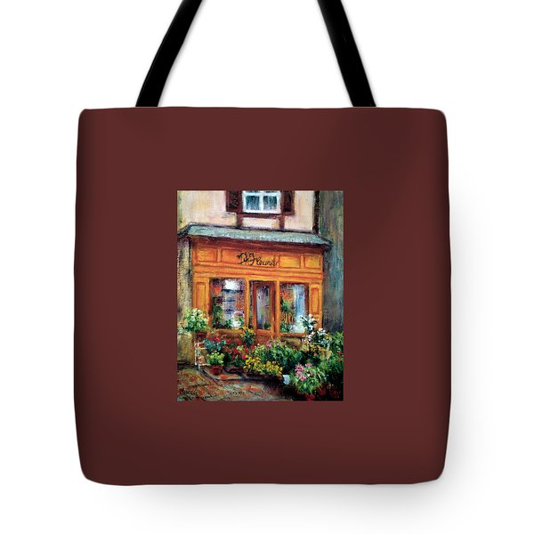 Fleurs Tote Bag by Jill Musser