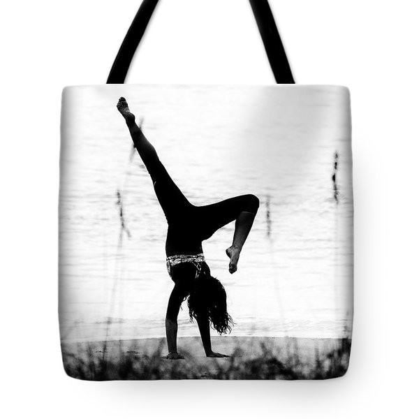 Tote Bag featuring the photograph Flexible by Alan Raasch