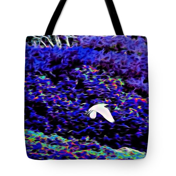 Flight 1 In Abstract Tote Bag