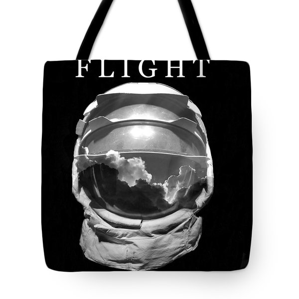 Tote Bag featuring the photograph Flight by David Lee Thompson