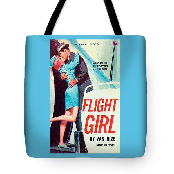 Flight Girl Tote Bag