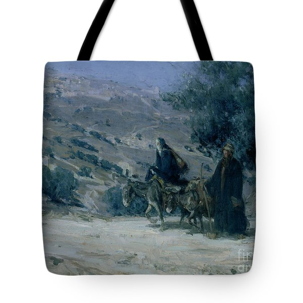 Flight Into Egypt Tote Bag by Henry Ossawa Tanner