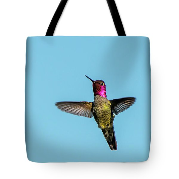 Flight Of A Hummingbird Tote Bag