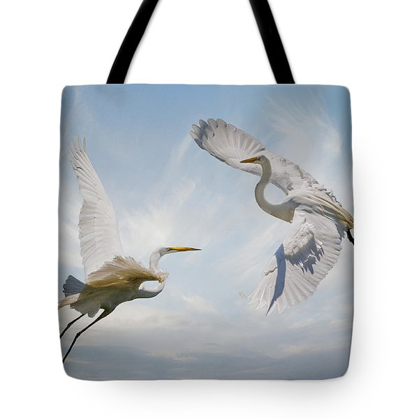 Tote Bag featuring the photograph Flight Of Fancy by Brian Tarr