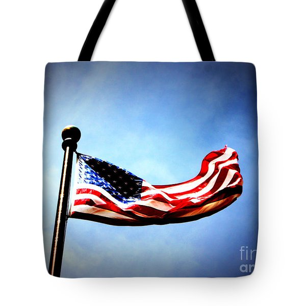 Flight Of Freedom Tote Bag