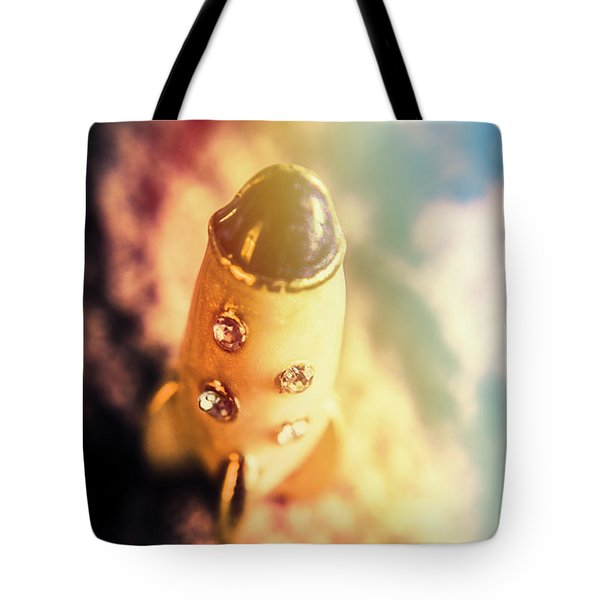Flight Of Space Fiction Tote Bag