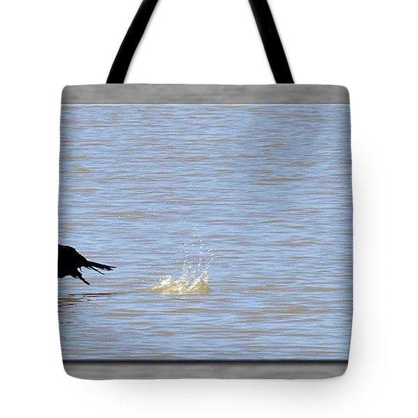 Flight Of The Cormorant Tote Bag