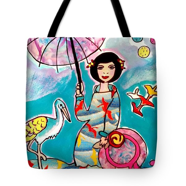 Flight Of The Cranes 1 Tote Bag