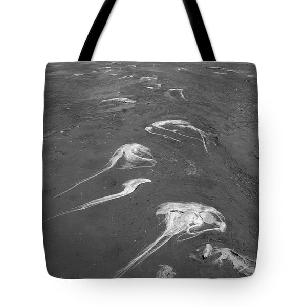 Tote Bag featuring the photograph Flight Of The Ocean Hairs by Marie Neder