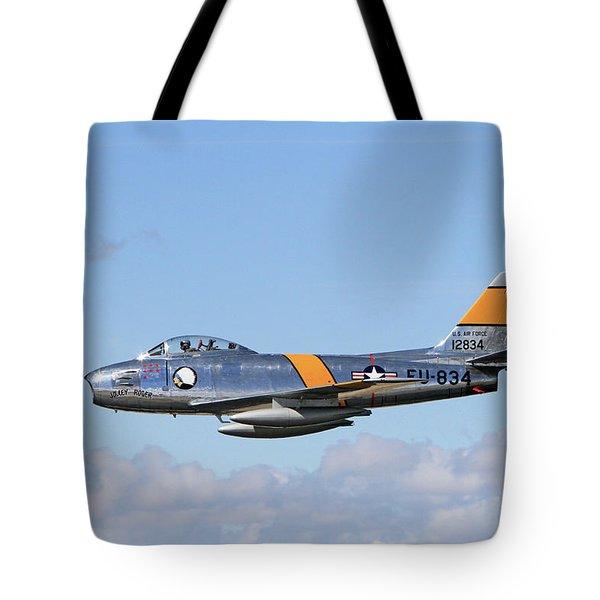 Flight Of The Sabre  Tote Bag
